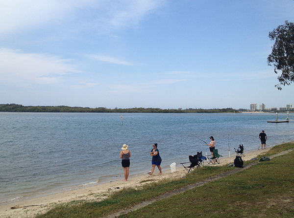 fishing-in-maroochydore-river