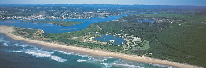 mudjimba-aerial-view