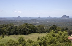 The hidden rainforest treasures atop Maleny.