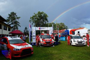 Four Wheels of Fury – International Rally of Queensland