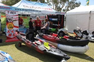 Sunshine coast home show - kayaks