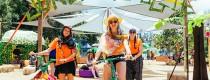 Jungle Love Music and Arts Festival - free push bikes