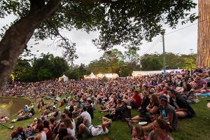 Woodford Folk Festival - crowds