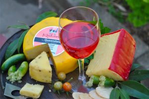 Kenilworth Cheese and wine selection