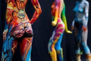 Art Of The Body Australian Body Art Festival 2018sunshine Coast Lifestyle