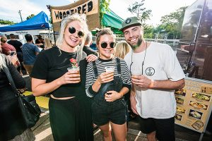 happy faces at the noosa craft beer festival