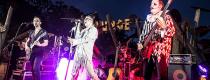 halloween band playing at aussie world