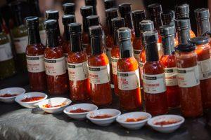 chilli bottles