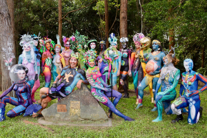 Through Time And Space Australian Body Art Festival 2020sunshine Coast Lifestyle