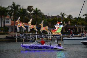 Christmas Boat Parade Mooloolaba 2019